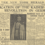 Fake News: Abdiction of the Kaiser