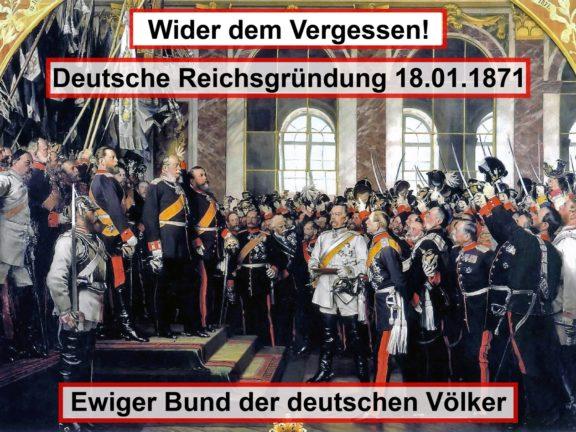 Termin Reichsgründung 1871
