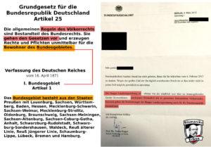 Gültigkeit der Haager Landkriegsordnung im Bundesgebiet