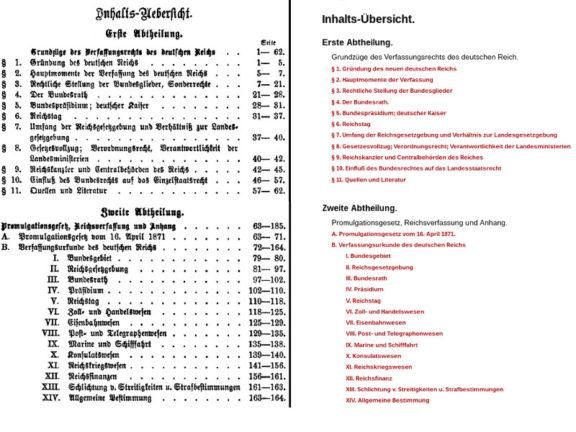 Reichsverfassungsurkunde von Emil Riedel steht online zur Verfügung